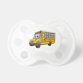 Bande dessinée 2017 d'autobus scolaire tétine