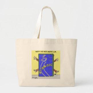 Bande dessinée 2342 de la loi de Murphy Grand Tote Bag
