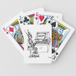 Bande dessinée 3624 de robot jeux de cartes