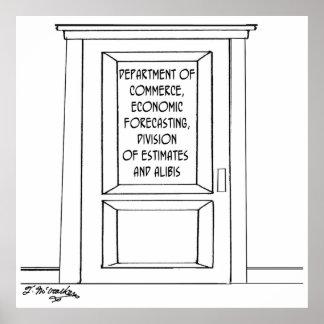 Bande dessinée 3781 d'économie poster