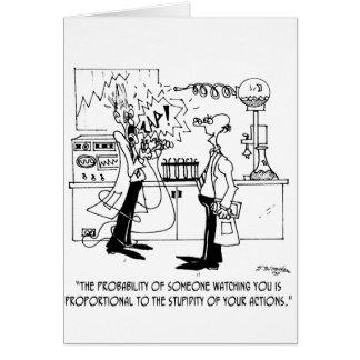 Bande dessinée 4735 de la Science Cartes