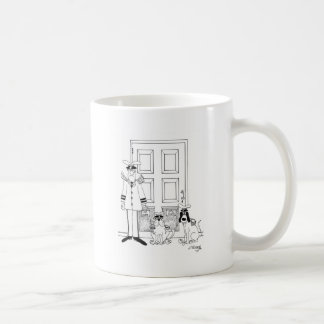 Bande dessinée 4846 d'animal familier mug