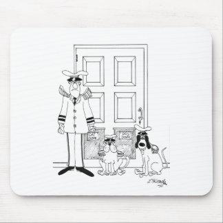 Bande dessinée 4846 d'animal familier tapis de souris