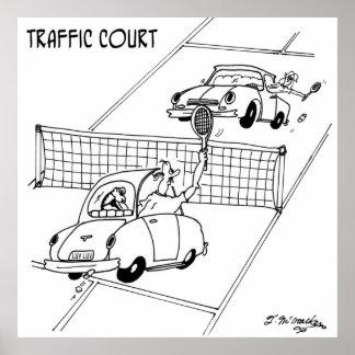 Bande dessinée 5216 de tennis poster