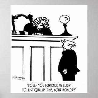 Bande dessinée 5298 d'avocat poster