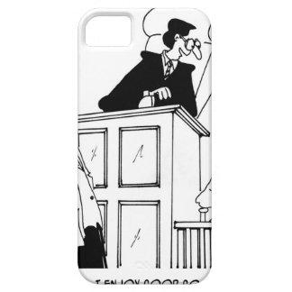 Bande dessinée 5321 de juge coque iPhone 5 Case-Mate