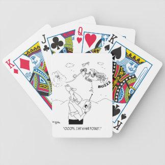 Bande dessinée 5786 de cheveux jeu de cartes