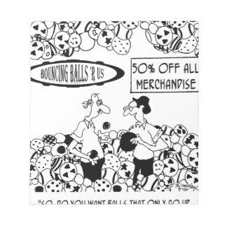 Bande dessinée 6241 de boule bloc-note