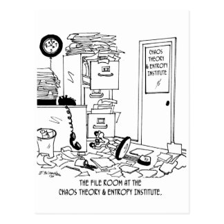Bande dessinée 6292 de chaos carte postale