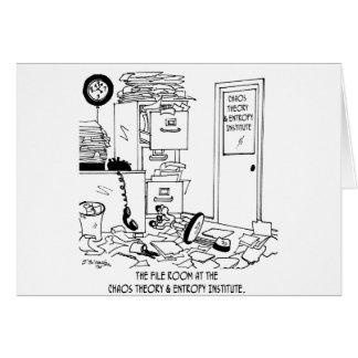 Bande dessinée 6292 de chaos cartes