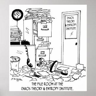 Bande dessinée 6292 de chaos poster