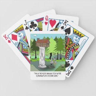Bande dessinée 6369 de construction cartes à jouer