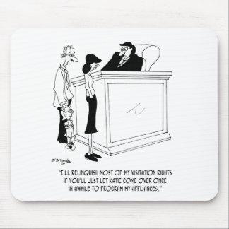 Bande dessinée 6485 de divorce tapis de souris