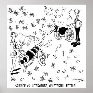 Bande dessinée 7146 de la Science Poster