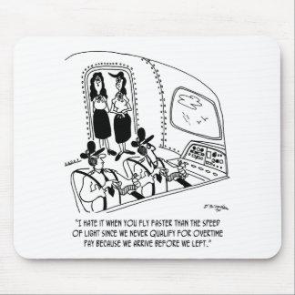 Bande dessinée 7547 de vol tapis de souris