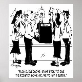 Bande dessinée 8453 d'affaires poster