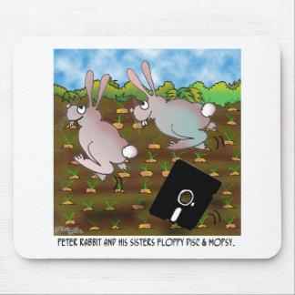 Bande dessinée 8724 de lapin tapis de souris
