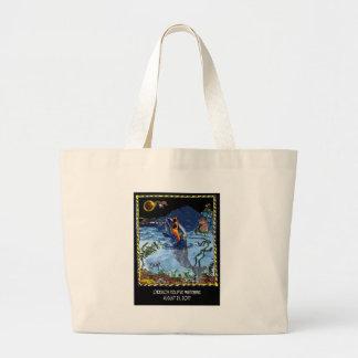 Bande dessinée 9524 d'éclipse grand tote bag