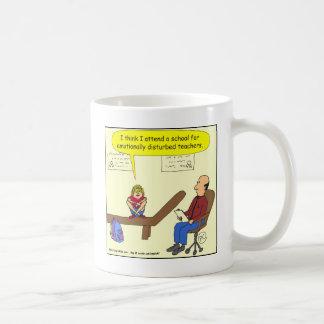 bande dessinée avec émotion perturbée de 277 mug