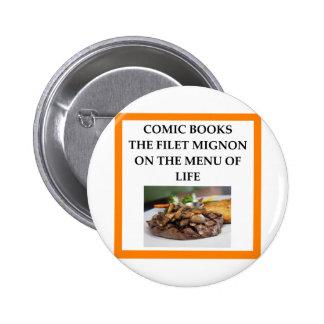 bande dessinée badges