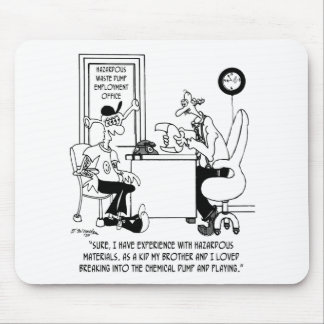 Bande dessinée chimique 8791 tapis de souris