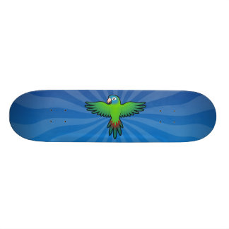 Bande dessinée Conure/Lorikeet/perroquet Skateboards Customisés
