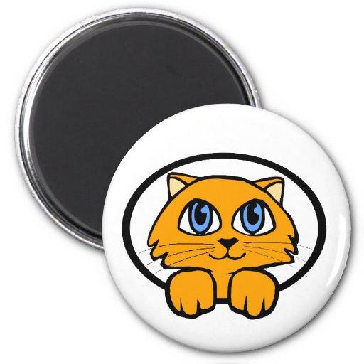 Bande dessinée de chaton de bébé magnets