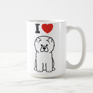 Bande dessinée de chien de bouffe de bouffe mug