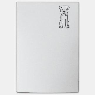 Bande dessinée de chien de boxeur de Taureau