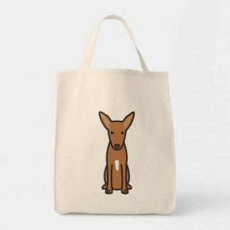 Bande dessinée de chien de chasse de pharaon sac