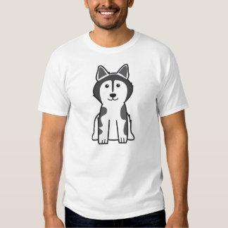 Bande dessinée de chien de Malamute d'Alaska T-shirt