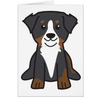 Bande dessinée de chien de montagne de Bernese Cartes