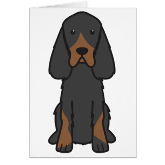 Bande dessinée de chien de poseur de Gordon Cartes De Vœux
