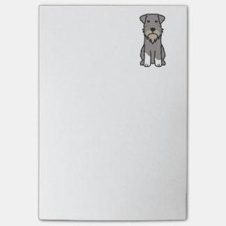 Bande dessinée de chien de Schnauzer miniature