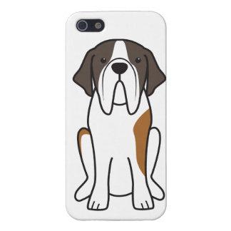 Bande dessinée de chien de St Bernard Étui iPhone 5