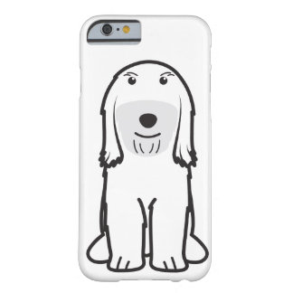 Bande dessinée de chien de Terrier tibétain Coque iPhone 6 Barely There