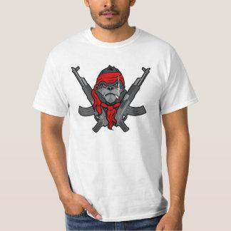 Bande dessinée de combattant de rebelle de gorille t-shirts