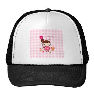 Bande dessinée de fleur de ballon de motif de rose casquette de camionneur