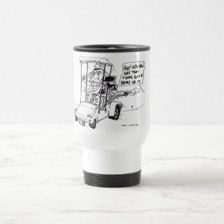 BANDE DESSINÉE DE GOLF TASSES À CAFÉ