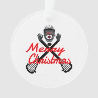 Bande dessinée de lacrosse de Noël