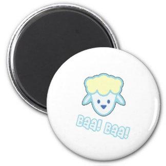 Bande dessinée de moutons de bébé aimants pour réfrigérateur