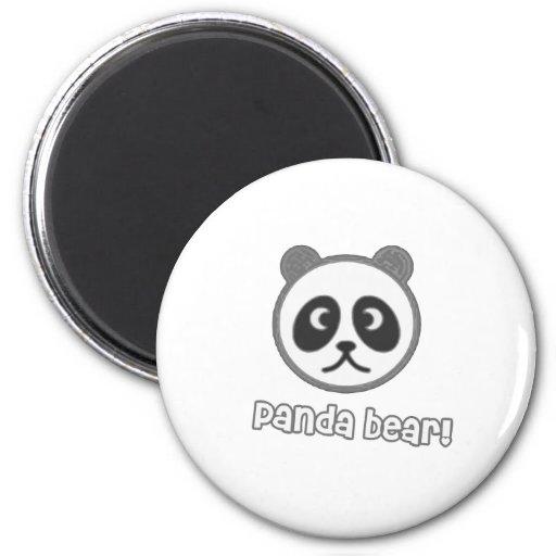 Bande dessinée de panda de bébé magnets pour réfrigérateur