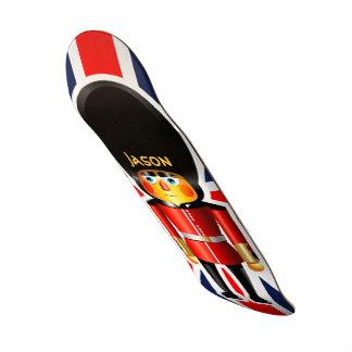 Bande dessinée de soldat de la garde de la Reine Skateboards Cutomisables