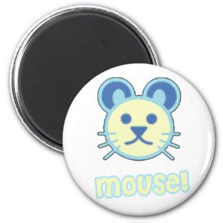 Bande dessinée de souris de bébé magnets pour réfrigérateur