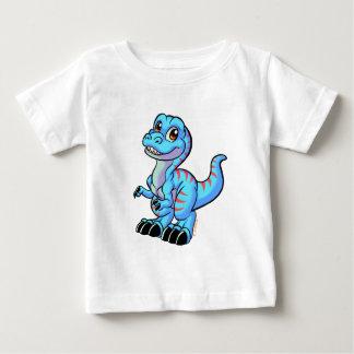 Bande dessinée de T Rex T-shirt Pour Bébé