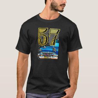 Bande dessinée de voiture de 57 Chevy T-shirt