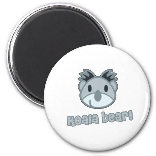 Bande dessinée d'ours de koala de bébé aimant