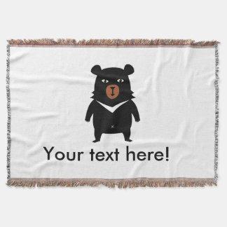 Bande dessinée d'ours noir couverture