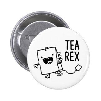 Bande dessinée drôle de calembour de sachet à thé badges