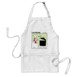 Bande dessinée drôle de chef gastronomique tabliers
